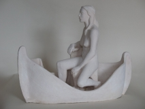 Woman in a Ship