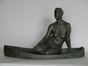 Jen | 2006 Bronze. h13 w23 d10 inches. Edition 1/4.